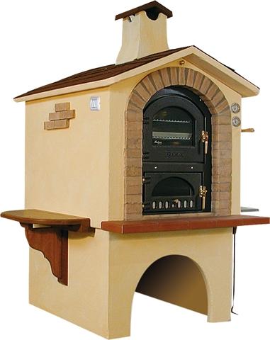 Forno Assisi Da Esterno In Muratura Bigini Caminetti