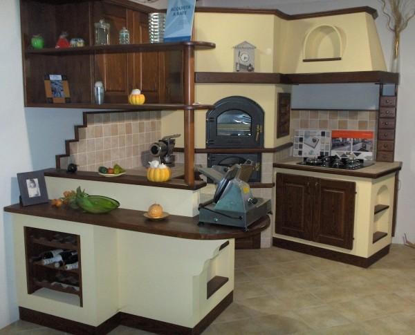 Cucina in Muratura Moderno | Bigini Caminetti